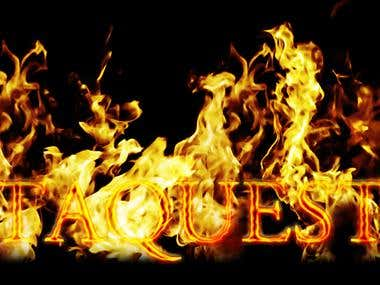 Fire Type Texture