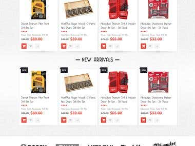 Magento Store For Tools