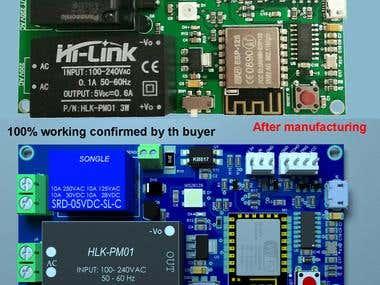 ESP8266 pump controller
