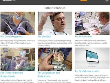 Video Dentistry for Everyone - Built in ReactJs