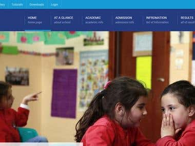 Betil School & College web Developed