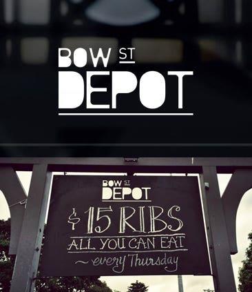 Bow Street Depot - Branding