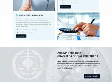Web | ATD asesoría (Unquiet Pixel S.L.)