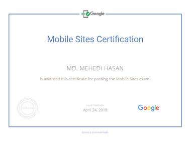 Google AdWord Mobile Site Certification