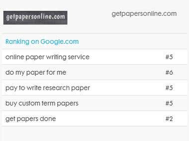 SEO for Get papers online
