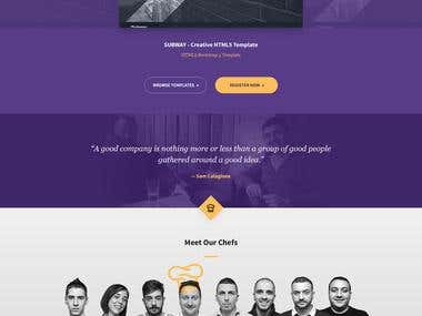 IT Company Website Design