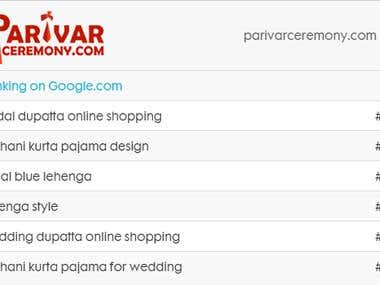 SEO for Parivar Ceremony