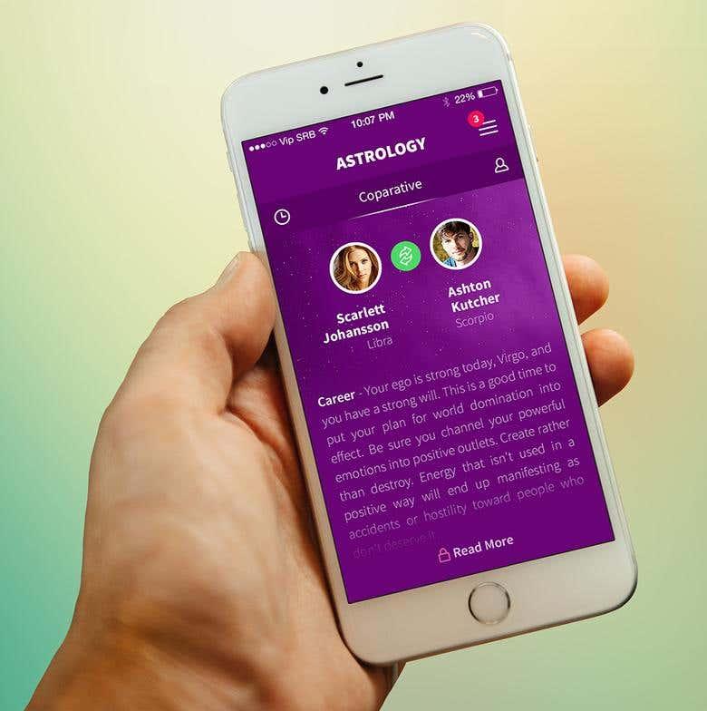 Astrology - Numerology App Design | Freelancer