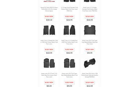 TCS-Automotive-Performance eBay store & Listing Design