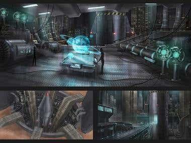 Missile Base Concept