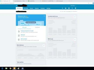 Xero Online Cloud base Accounting software