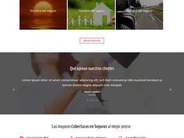 Web | Seguros Casar (Unquiet Pixel S.L.)