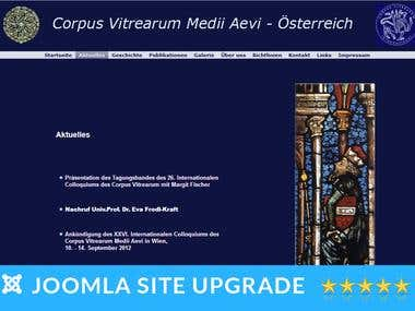 Joomla Website Upgrade to latest version