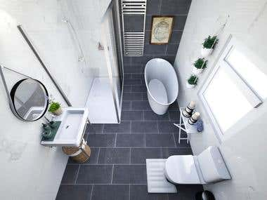 Interior Design _ Bathroom