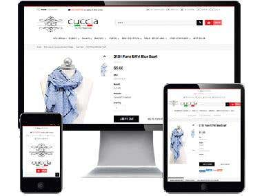 Online store for Men and Women's Fashion Cloth and Accessori