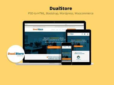 Dual Store E-Commerce