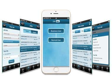 Job Gainer - Location based Job Finer Application