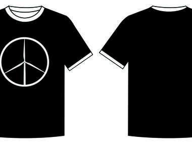 Renewable energy shirt (peace)
