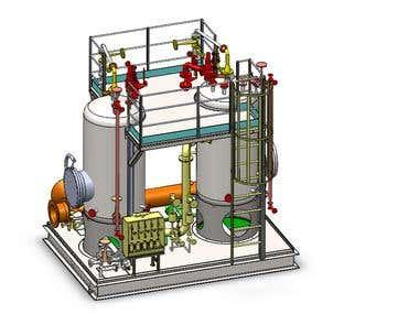 3d modeling-Pumps, valves