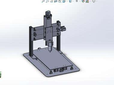 CNC Milling Machine Drawings