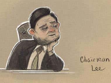 Chairman Lee ILLUSTRATION