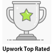 Upwork top-rated!