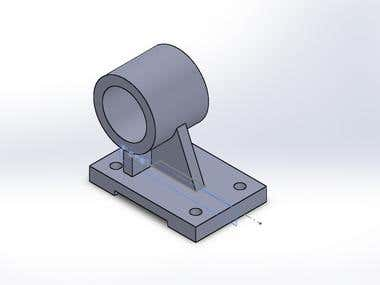 A sample draft of Solidwork