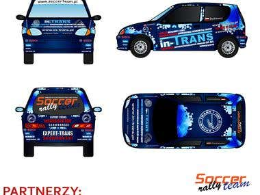 rally car design