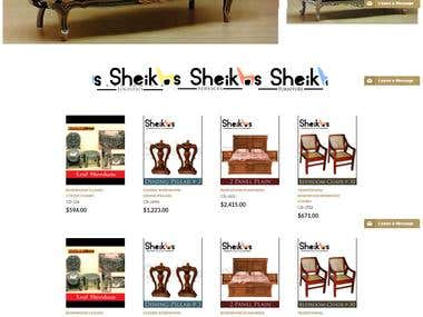 Furniture Online Store/Ecommerce