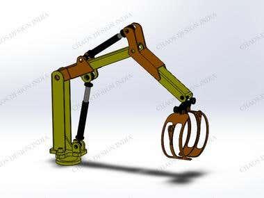 Timber Crane Design