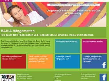 Haengematte - webshop