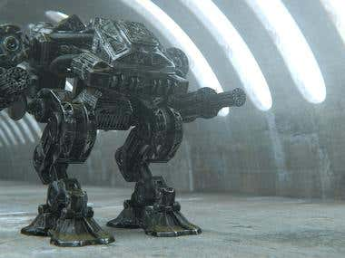 Machine Unleashed: Gunner Mech