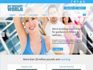 WordPress - MyWeightWorld