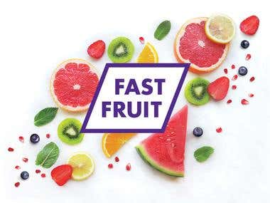 Logo for fruit breakfasts delivery service