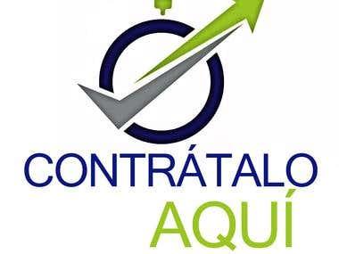 Logotipo para Contrataloaqui.com