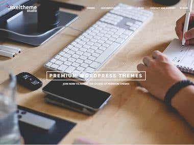 Pixel Theme Studio (Theme Site)