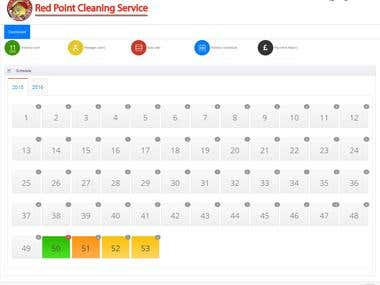 Redpoint Cleaning Web Application