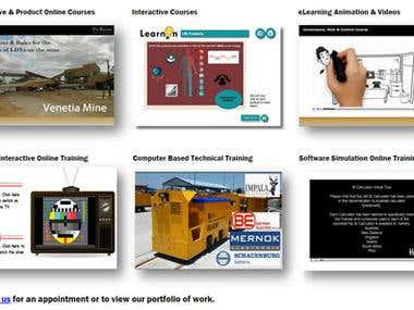 LearnOn Portfolio of Work