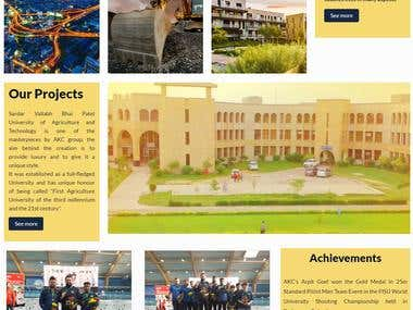 AKC Group ( Building Construction Website)
