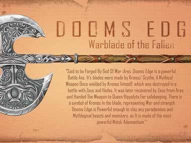 Doom's Edge- Warblade Of The Fallen