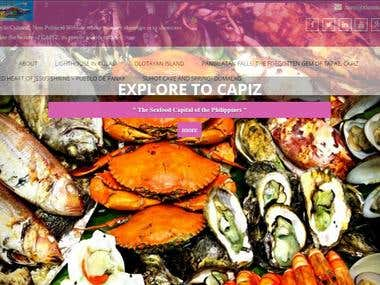 Book of Capiz- Sea food Capital of the Philippines