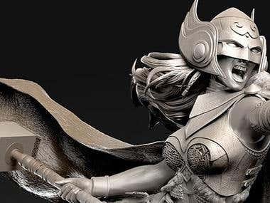 3D Sculpture Deign