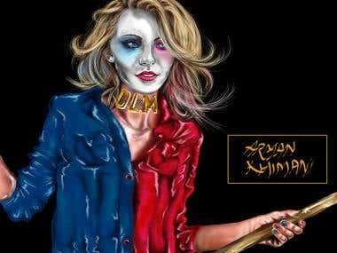 Harley Quinn- DIGITAL ART
