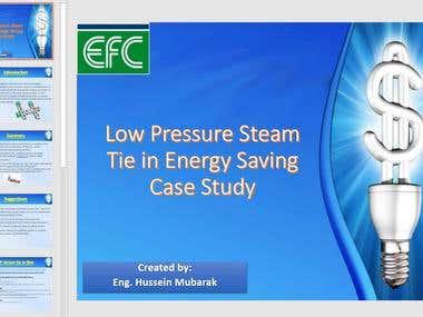 Presentation of case study project