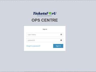 Booking & Ticket Management System