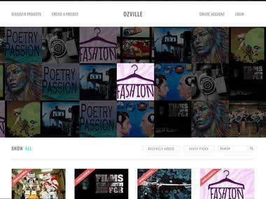 CrowdFunding Site
