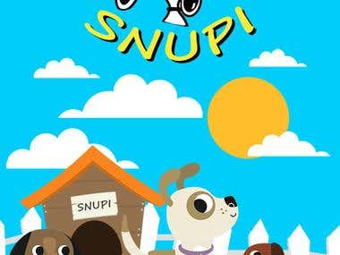 Snupi dog daycare Flyer