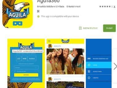 AGUILA 360 VR App