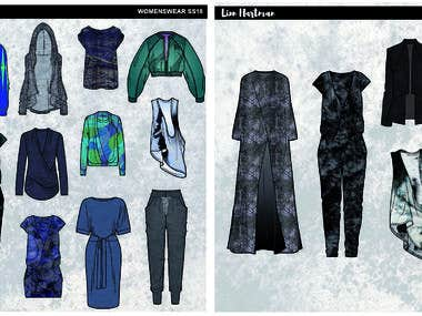 Womenswear selection