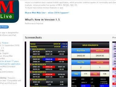 Stock Market trading App
